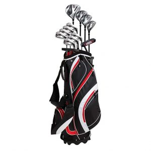 Precise S7 18 Piece Men's Complete Golf Club Package Set